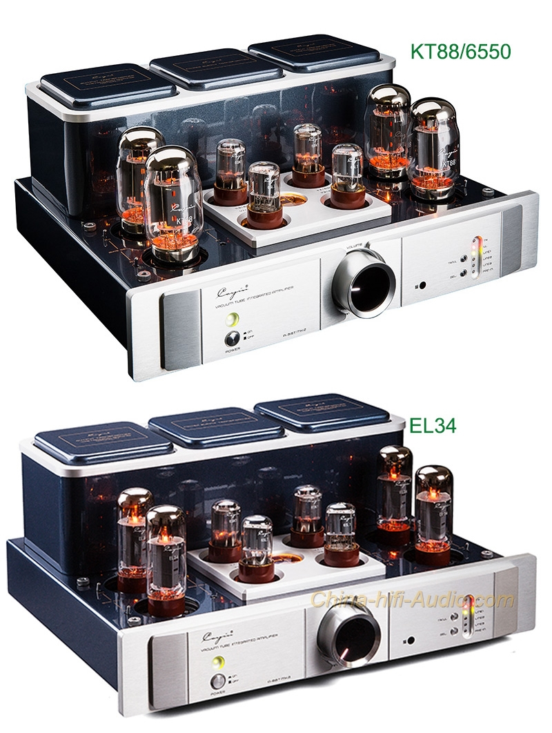 Cayin A-88T MK2 tube EL34/KT88/6550 Integrated amplifier audiophile power amp