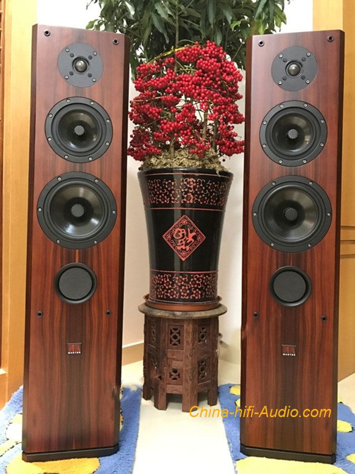 Master The Firebird standing Loudspeakers HiFi amplifier speaker pair household