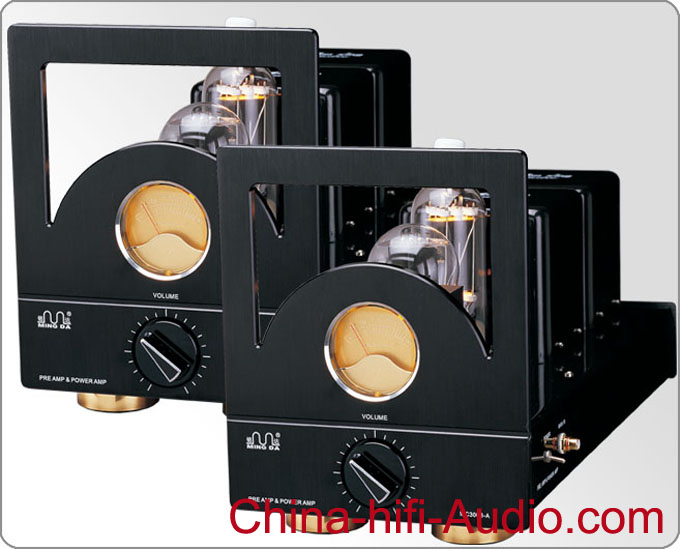 Meixing MC3008-A Class A Tube Mono Block Power Amplifier pair