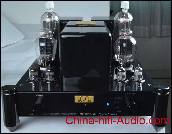 Meixing MC3008-AB tube 805 2A3 Class A Integrated Amplifier Spec