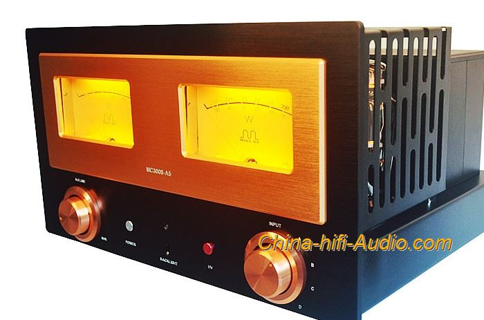 Meixing MC3008-A5 Class A HiFi amplifier household 300B&845 Tube integrated Amp