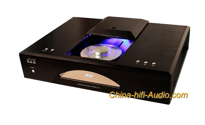 Meixing MC500-CD HIFI CD player vacuum tube filter USB DAC decoding HDCD Player