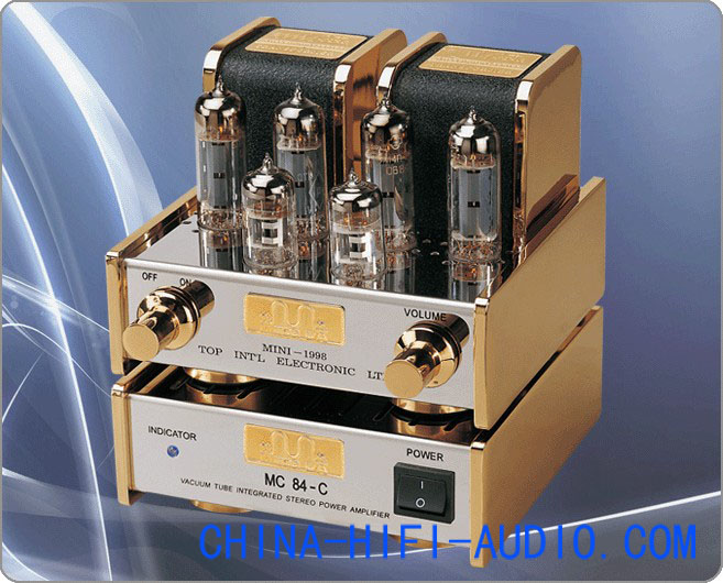 Meixing MingDa MC84-C EL84 mini tube Integrated Amplifier