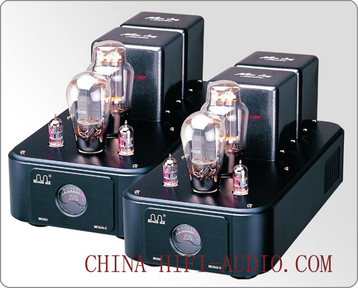 Meixing Mingda MC845-C 300B 845 Class A single-end Tube Dual Monoblock Power Amp