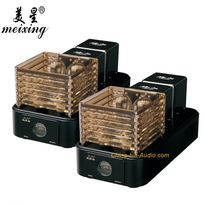 Meixing MingDa MC300-C 300B tube Monoblock Power Amplifier pair