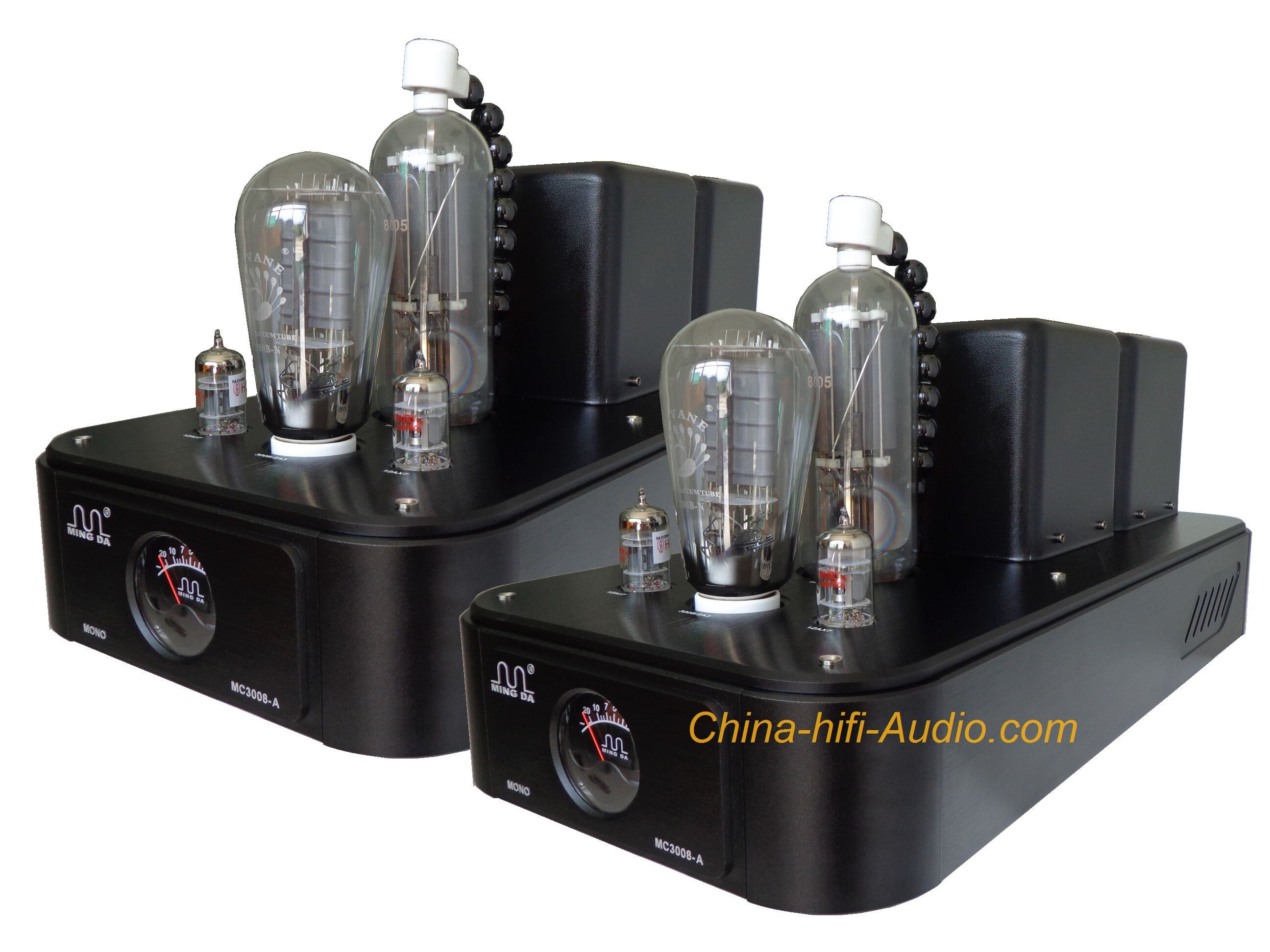 MingDa MC3008-A Class A Single-ended 300B 805 Tube Mono Block Power Amplifier