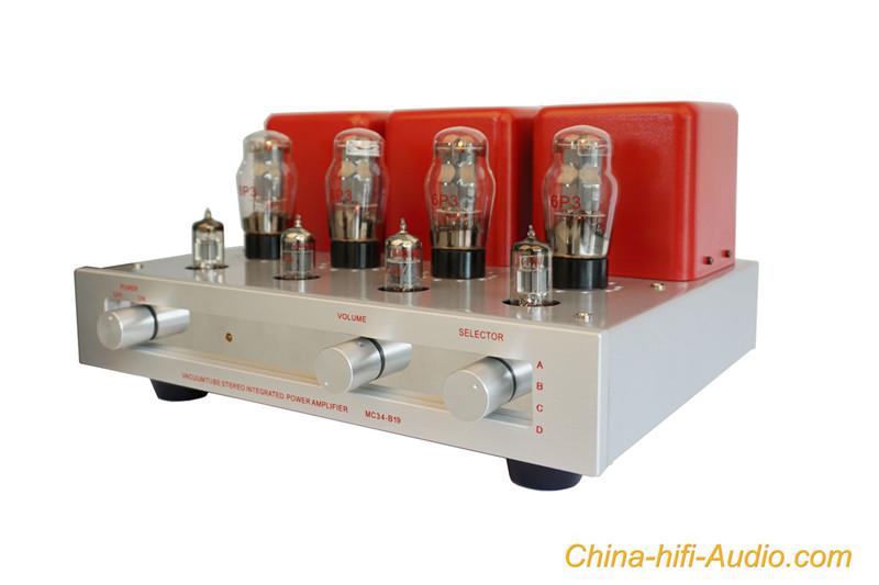 MeixingMingDa MC34-B19 integrated amplifier 6P3×4 vacuum tube amp hifi