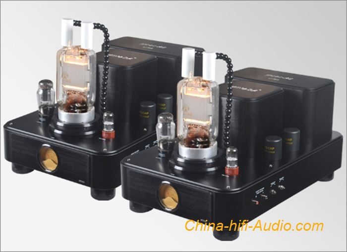 MingDa Class A MC80-AS mono block power amplifier Hiend high-power tube amp pair
