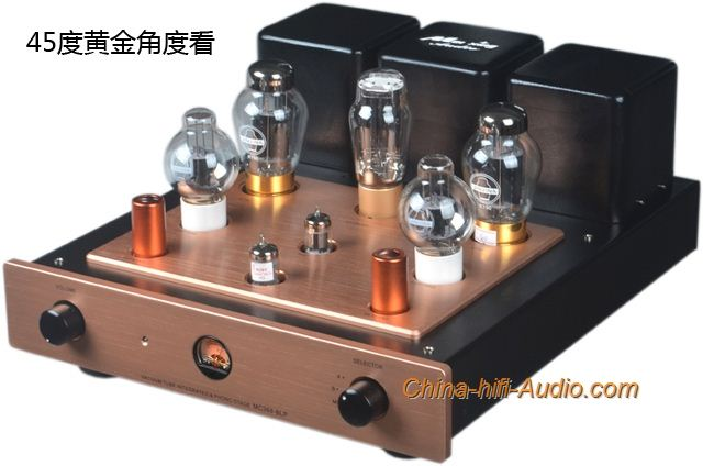 Mingda MC368-BLP Tube KT90 Class A single-end intergrated amplifier+Phono LP MM