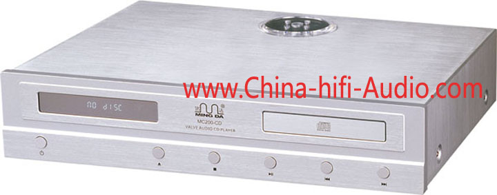 Ming Da Meixing MC200-CD Vacuum tube 5670 CD Player silver