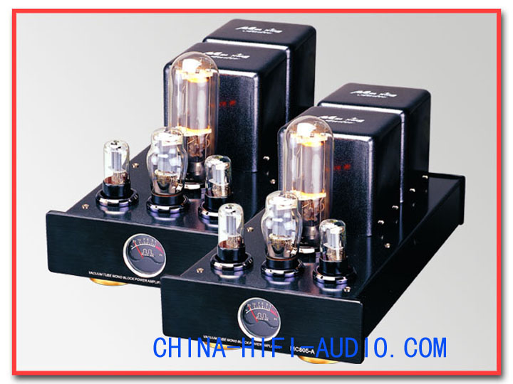 MingDA MC805-A CLASS A Tube 805 MONO BLOCK POWER AMPLIFIERS pair