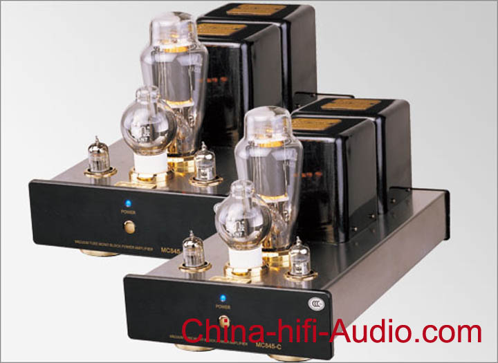 Meixing MC845-C Classe A Tube Mono Block Power Amplifier pair