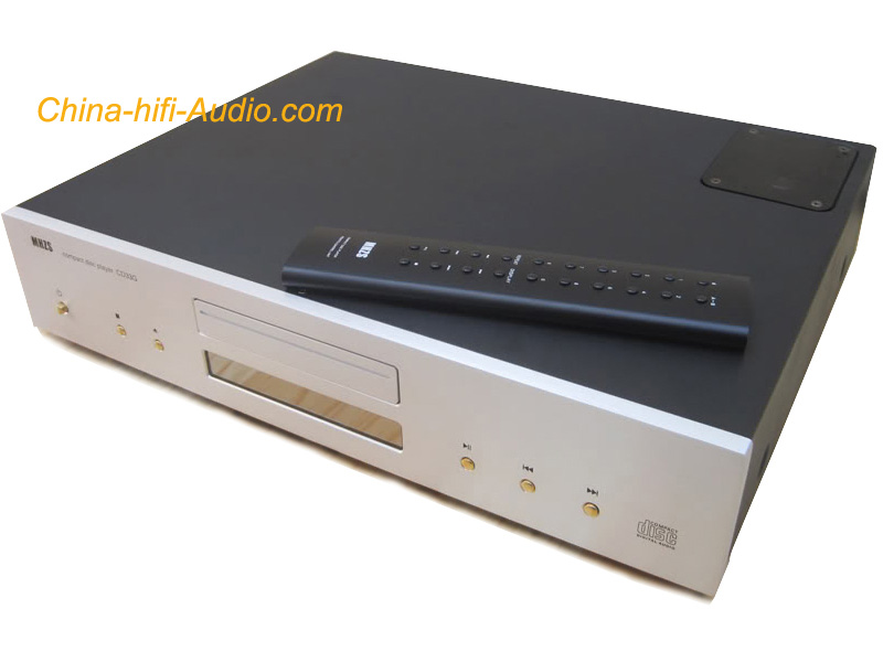 MHZS CD33K 6N3*2 Tubes CD HDCD player 24bit/192kHz hifi aduio Silver with remote