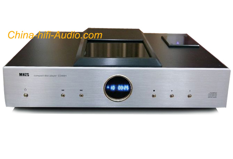 MHZS CD88H Top Loading Tube CD Player balanced XLR HiFi Audio SL