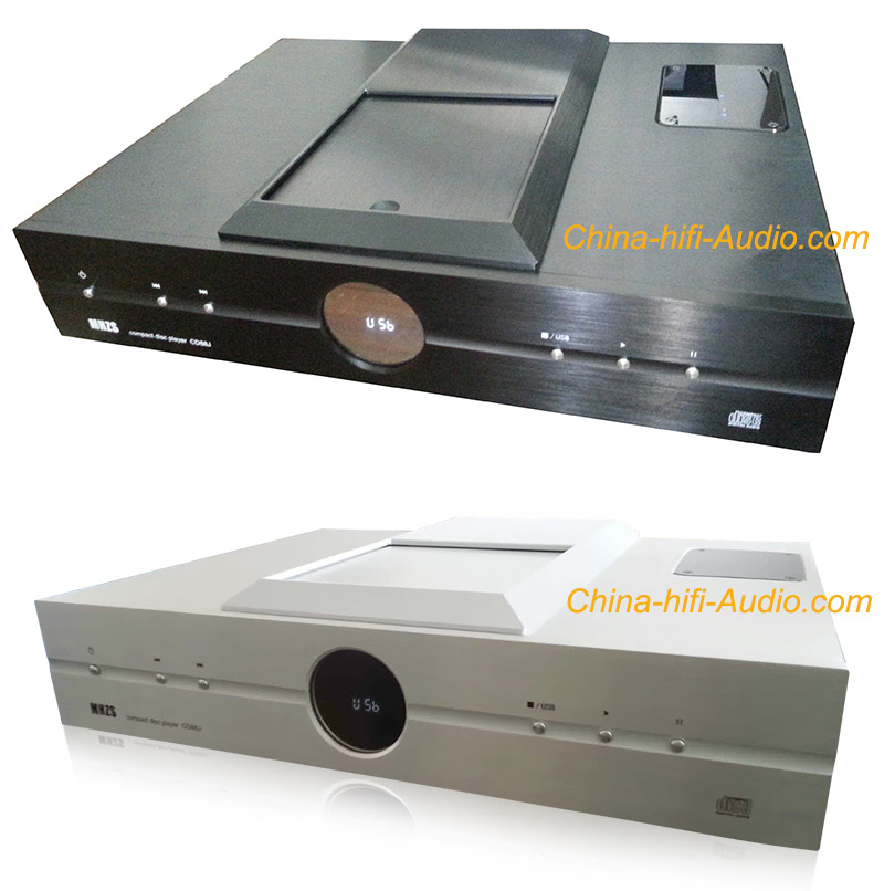 MHZS CD88J Top Loading Tube CD Player balanced XLR with USB be DAC 24bit/192KHz