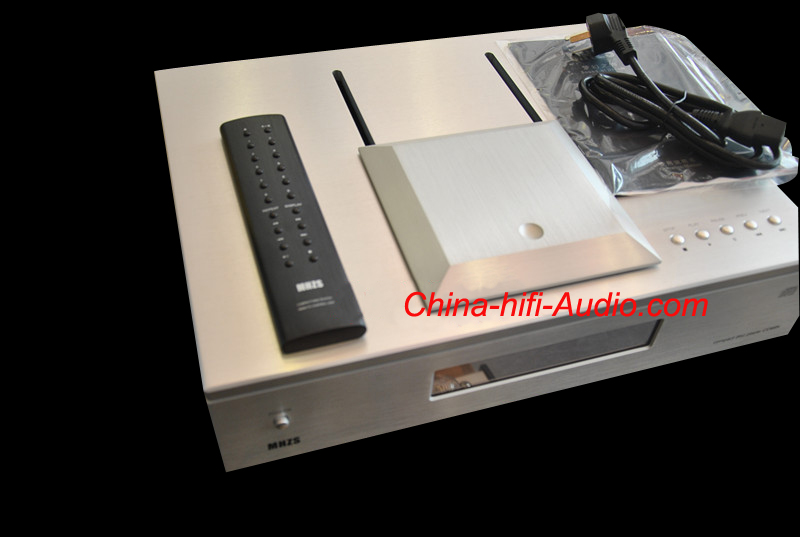 MHZS CD88K Top Loading Tube CD HDCD Player full balanced XLR SL