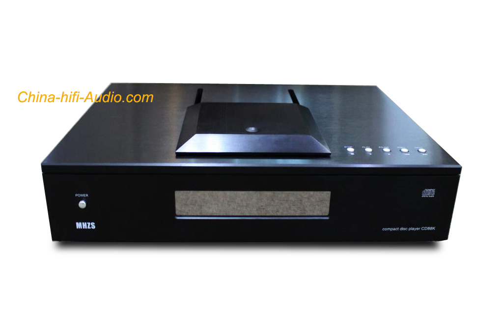 MHZS CD88K Top Loading Tube CD HDCD Player full balanced XLR BK