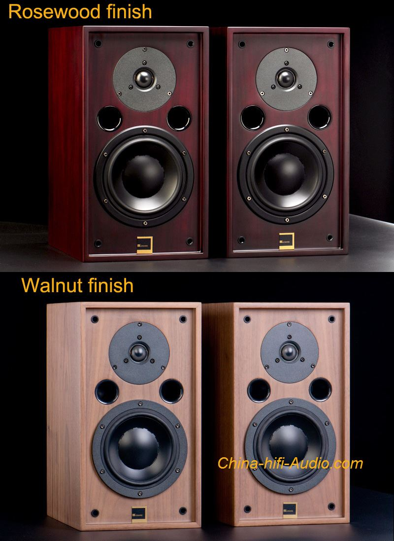 MUZISHARE Audio CS-3 hi-fi Bookshelf Speakers loudspeakers Pair Walnut Rosewood