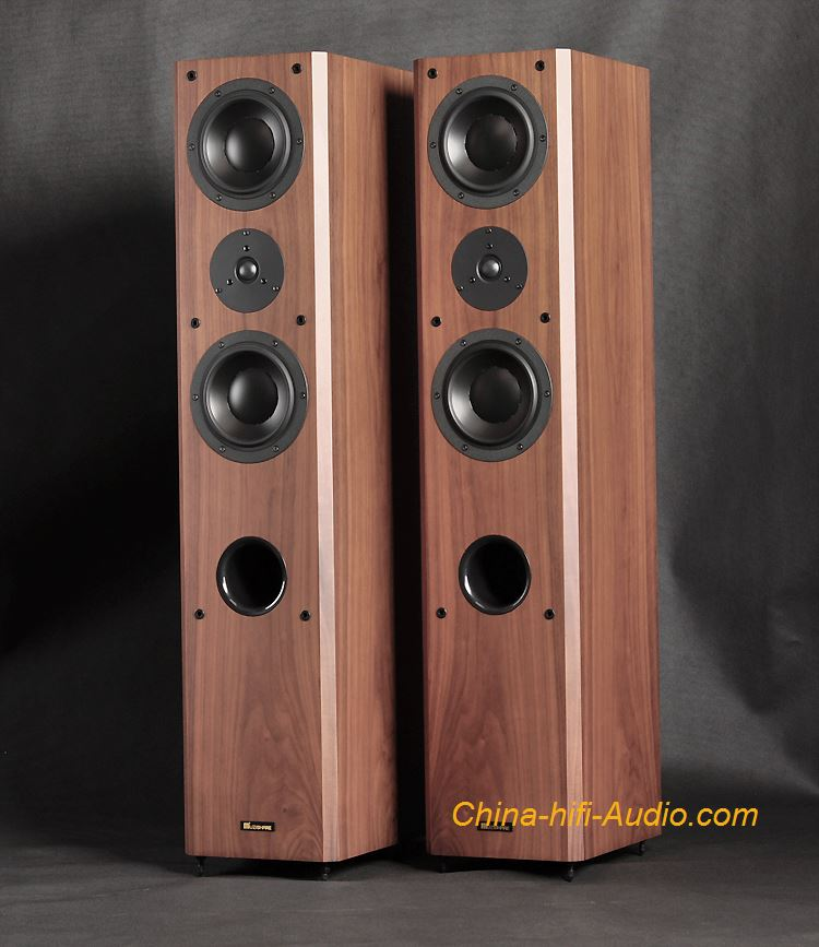 MUZISHARE Audio T11 HiFi Speakers floorstanding loudspeakers 3 drivers Pair