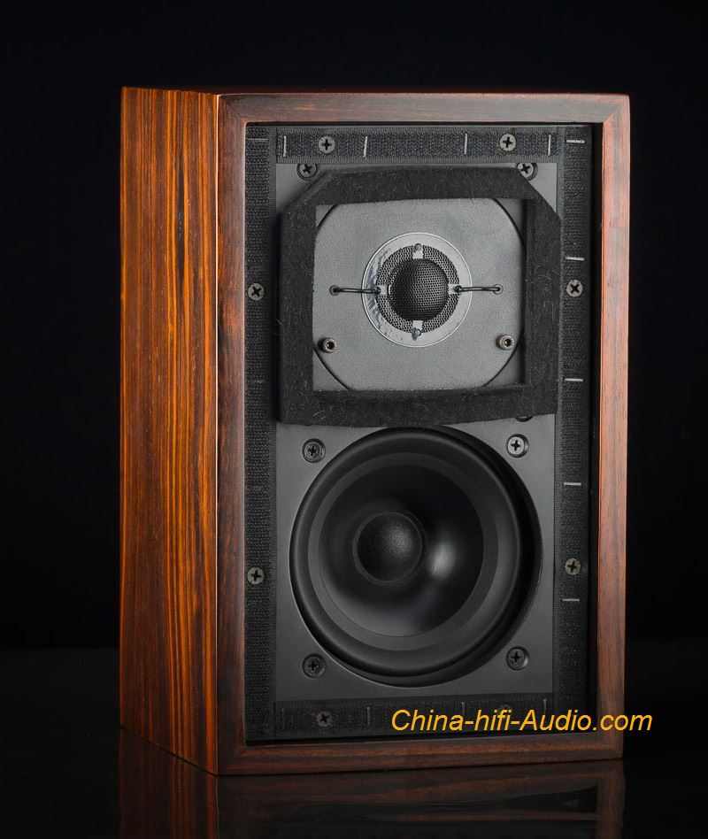 MUZISHARE LS3/5A Monitor Bookshelf Speakers loudspeakers Pair KEF B110 replica - Click Image to Close