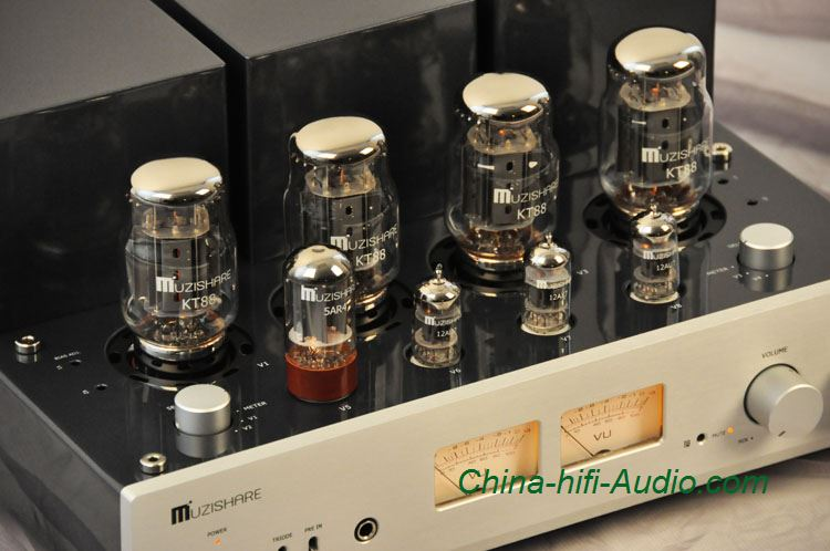 Muzishare X Kt Tube Integrated Amplifier Power Headphone