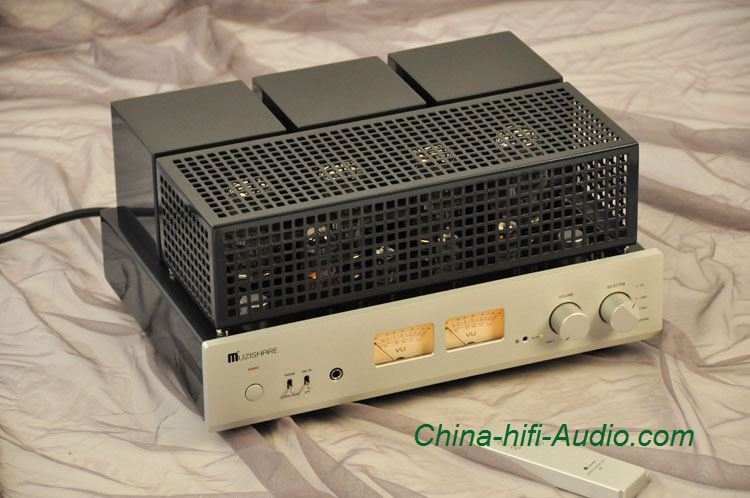 MUZISHARE X7 KT88 x4 vacuum tube integrated amplifier& power amplifier Headphone