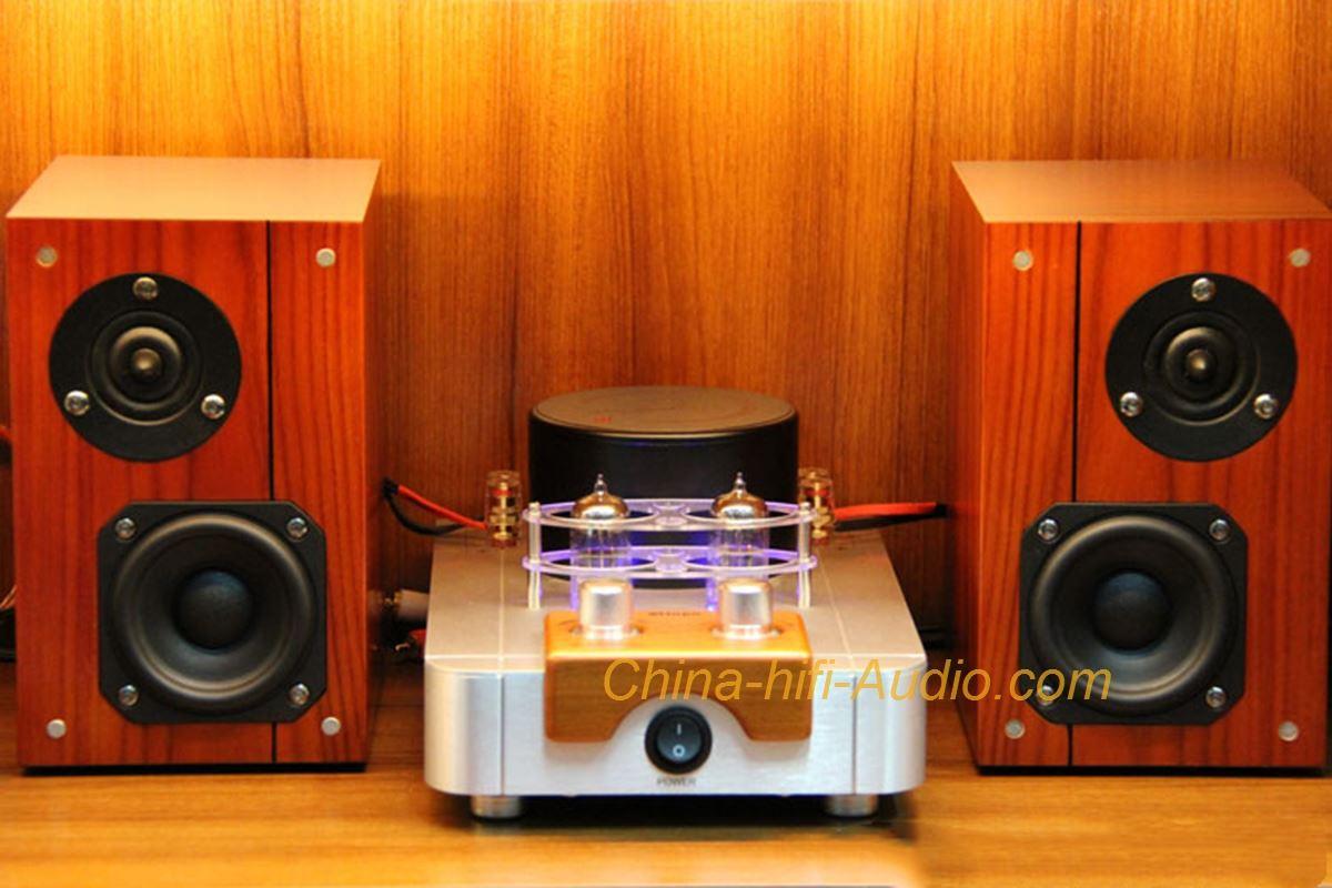 Best Match! QINPU A-6000 MKII amplifier + VF3.5 Speakers