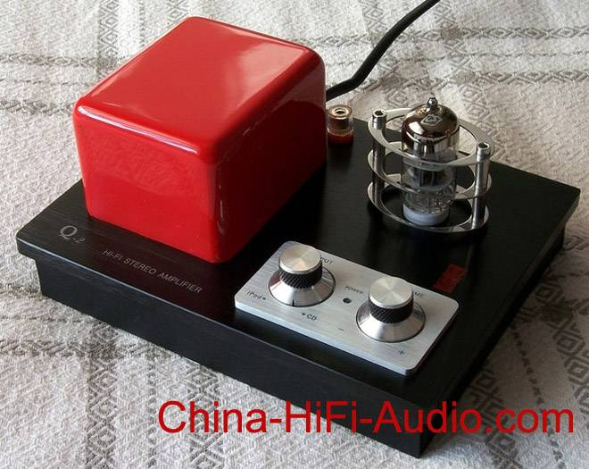 QINPU Q-2 mini HI-FI VACUUM TUBE INTEGRATED AMPLIFIER 100% BRAND