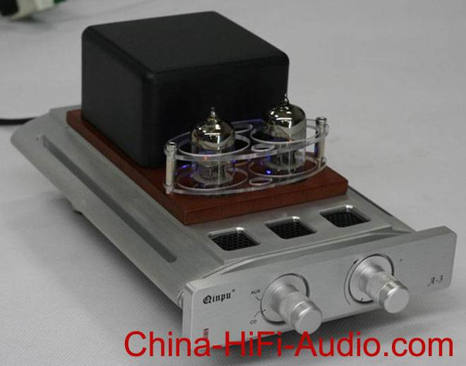 Qinpu A3 Integrated Amplifier with headphone amp tube 6N3 hifi audio