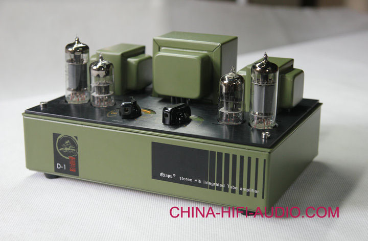 QINPU D-1 pure VACUUM TUBE INTEGRATED AMPLIFIER 2011 latest