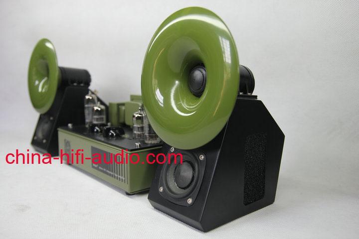 QINPU S-2 hifi speakers loudspeakers pair 2011 latest Red