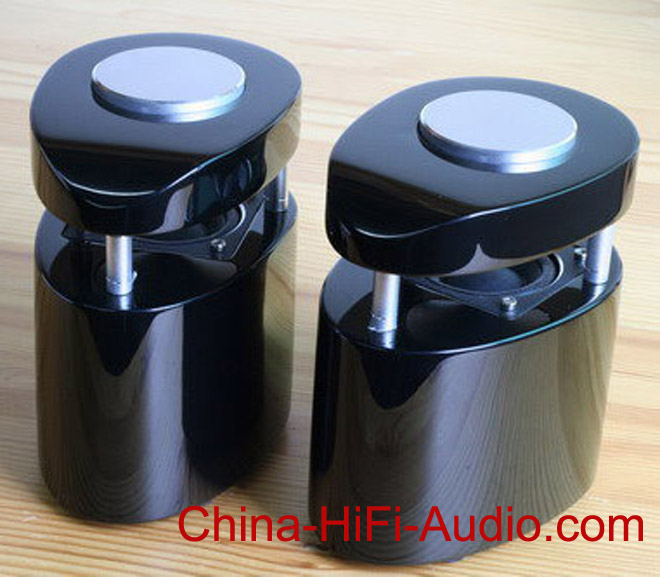 Qinpu Q-6 tabletop speaker piano lacquer chpo pair 2013 NEW