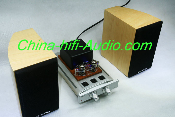 Best Match! QINPU A-3 intergrated amplifier + V-6 hifi speakers