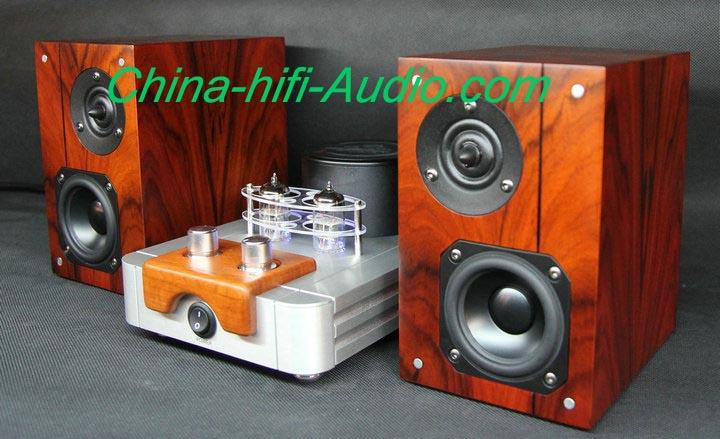 Best Match! QINPU A-6000 MKII amplifier + VF3.2 MKII Speakers