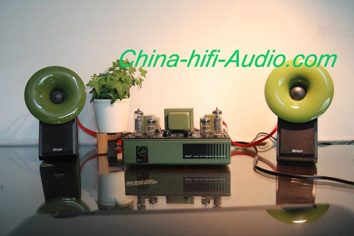 Best Match! QINPU D-1 intergrated amplifier + S-2 loud speakers