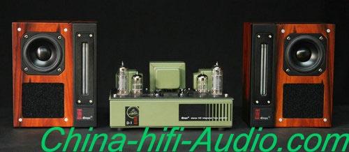 Best Match! QINPU D-1 intergrated AMP + VF-3.3 loud speakers