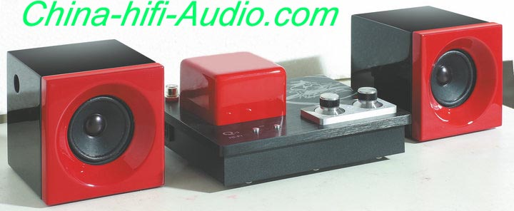 Best Match! QINPU Q1 Q-1 amplifier + DV-1 loud speakers