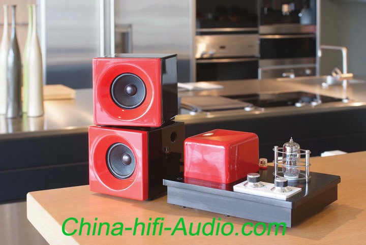 Best Match! QINPU Q2 Q-2 amplifier + DV-1 loud speakers