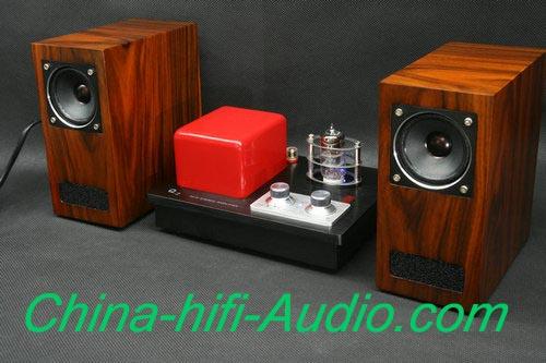 Best Match! QINPU Q2 intergrated amplifier + V-3 speakers