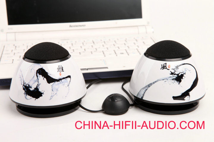 Qinpu SP-3 USB Mini portable speakers for notebook pc 2011