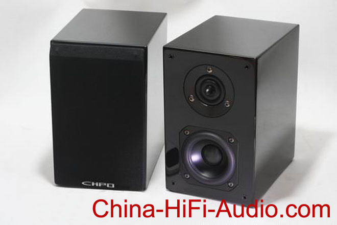 Qinpu VF-3.2 hi-fi tabletop speaker piano lacquer Chop pair