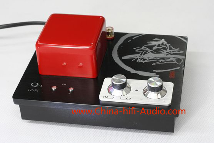 Qinpu Q-1 Hifi mini Integrated Amplifier FM radio Desktop audio