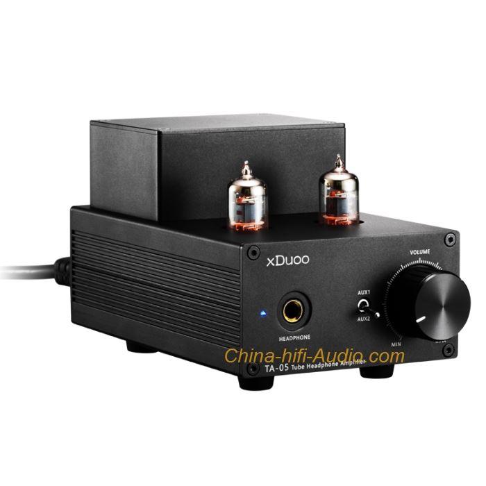 xDuooTA-05 Vacuum Tube Headphone Amplifier High Performance Stereo Amp