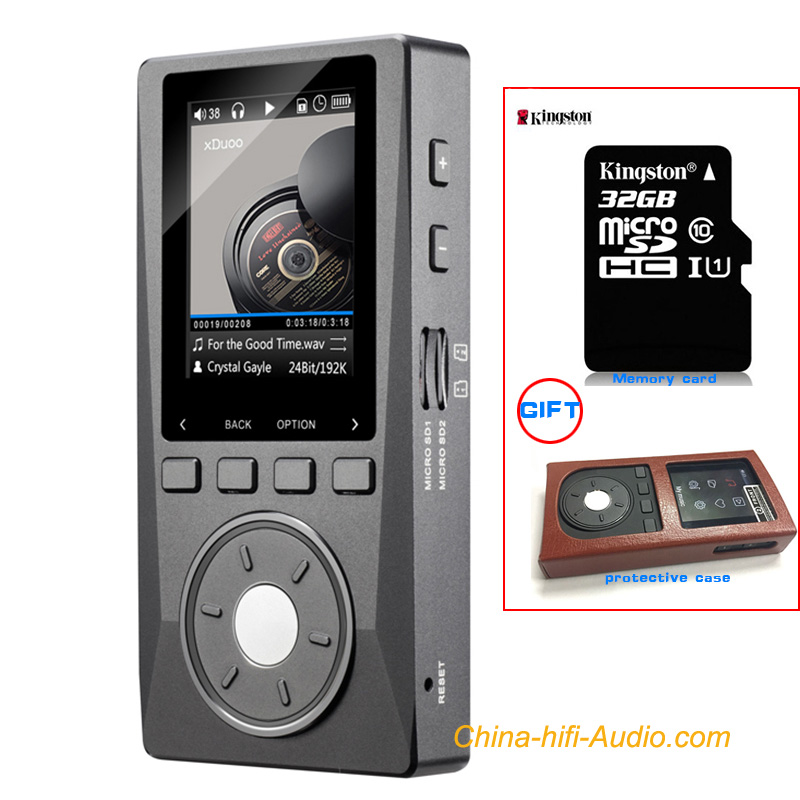 XDUOO X10 Portable Lossless DSD DAC Music Player DAP Optical MP3