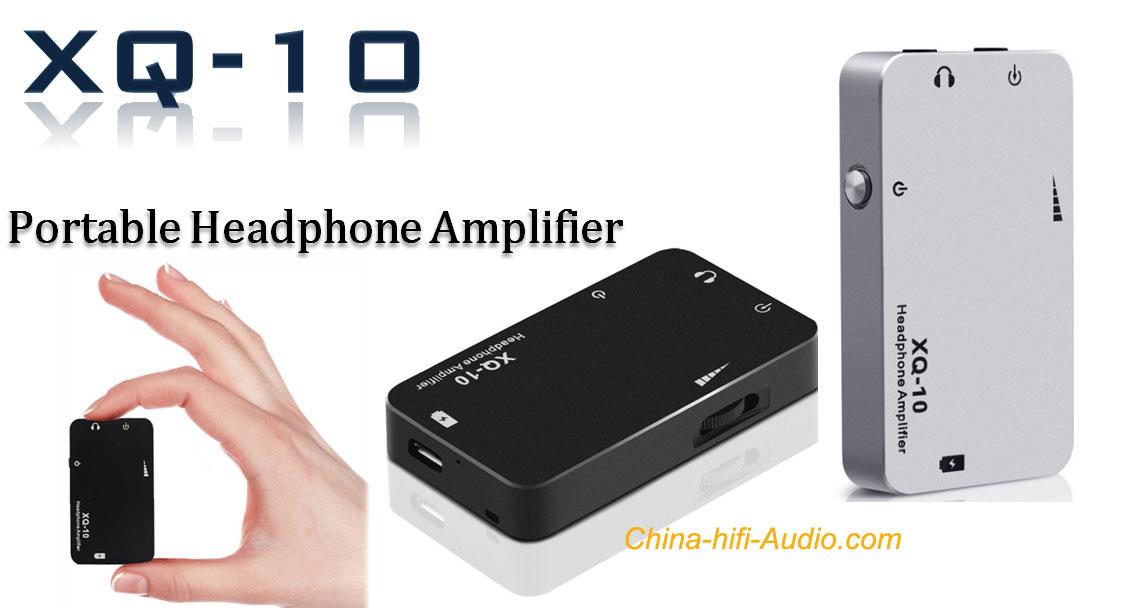 XDUOO XQ-10 Mini Portable Earphone Amplifier 3.5mm Stereo sound