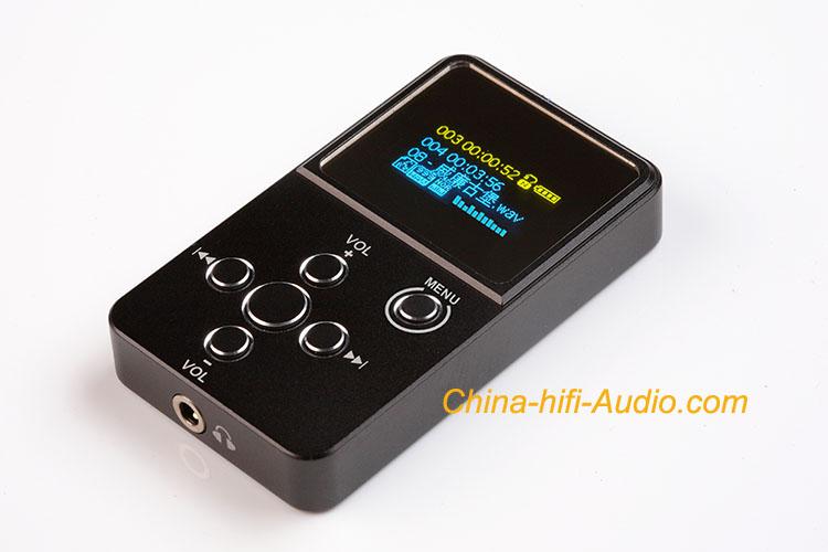 xDuoo X2 portable music player APE FLAC WAV MP3 WMA audio O-LED
