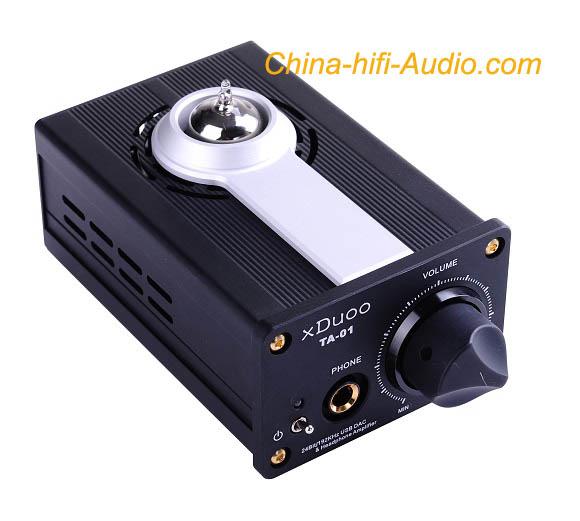 xDuoo Audio TA-01 USB DAC 24Bit/192KHz & tube headphone amp hifi