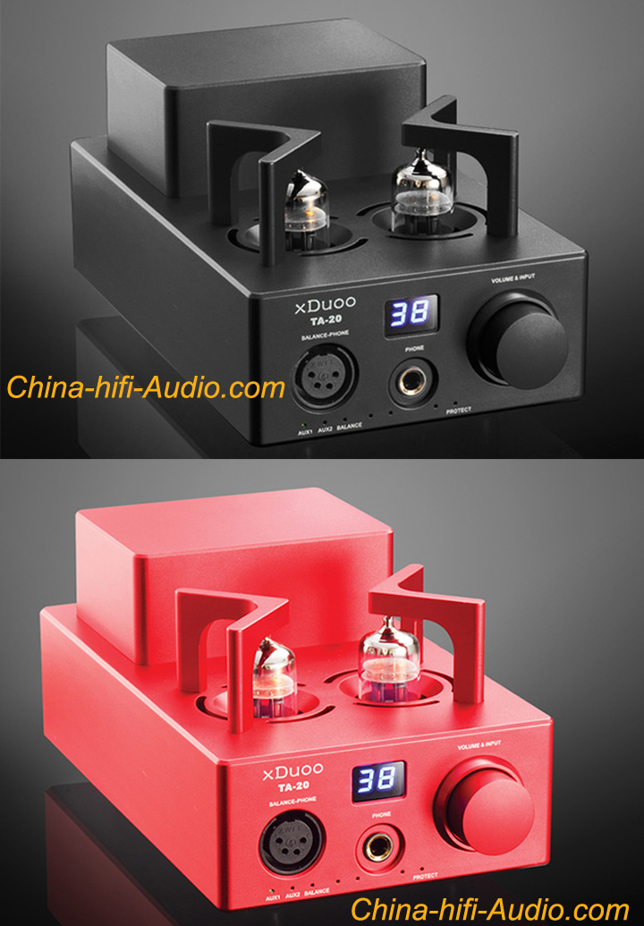 xDuoo TA-20 12AU7 Hi-Fi AUDIO Balanced Tube Headphone amplifier