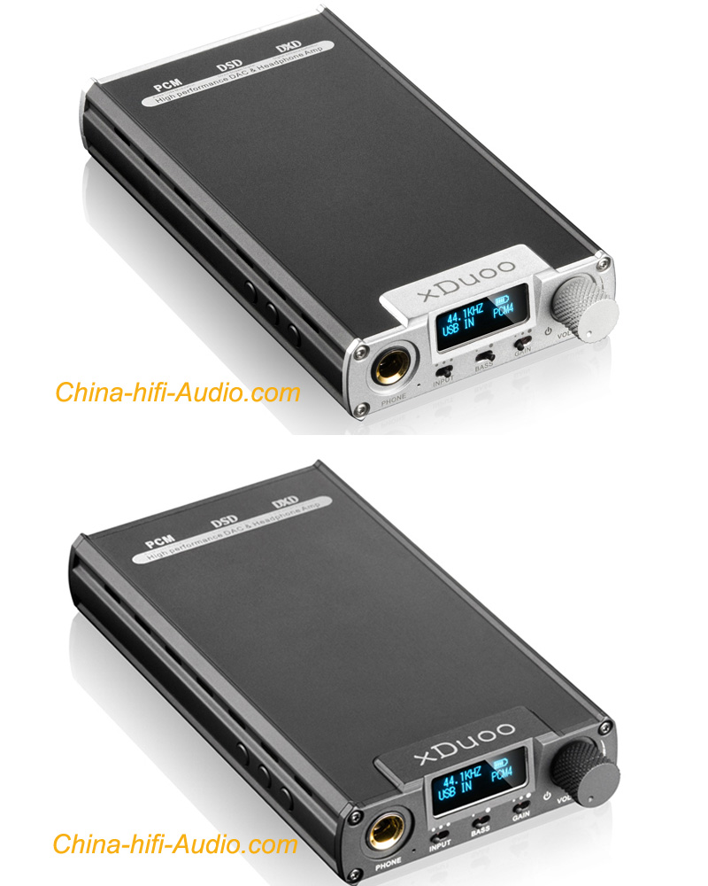 xDuoo XD-05 Portable Audio DAC Headphone Amplifier DSD 32B/384K