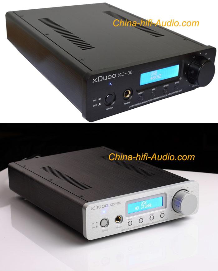 xDuoo XD-06 XMOS USB DAC 24Bit/192KHz&tube headphone amp Class A